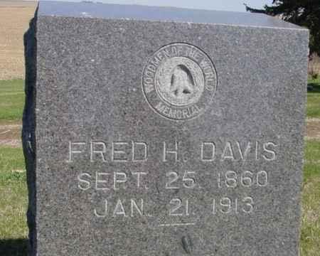 DAVIS, FRED H. - Crawford County, Iowa | FRED H. DAVIS