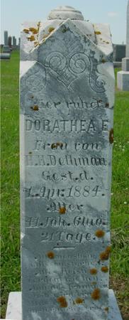 DETHMAN, DORATHEA - Crawford County, Iowa | DORATHEA DETHMAN
