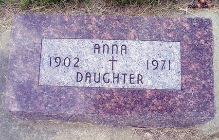 DEVANEY, ANNA - Crawford County, Iowa   ANNA DEVANEY