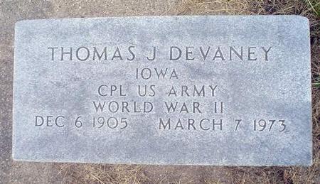 DEVANEY, THOMAS J. - Crawford County, Iowa | THOMAS J. DEVANEY