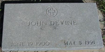 DEVINE, JOHN - Crawford County, Iowa | JOHN DEVINE