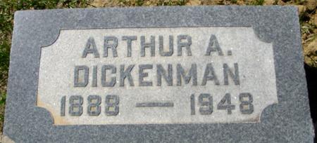 DICKENMAN, ARTHUR M. - Crawford County, Iowa | ARTHUR M. DICKENMAN
