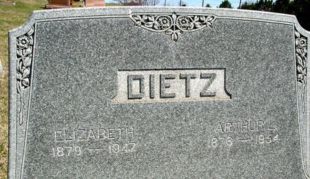 DIETZ, ARTHUR & ELIZABETH - Crawford County, Iowa | ARTHUR & ELIZABETH DIETZ