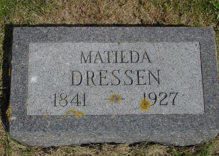 DRESSEN, MATILDA - Crawford County, Iowa | MATILDA DRESSEN