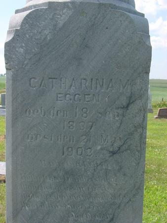EGGEN, CATHARINA - Crawford County, Iowa | CATHARINA EGGEN