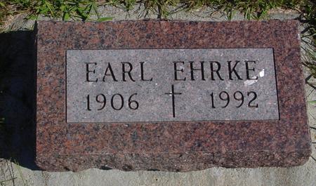 EHRKE, EARL - Crawford County, Iowa | EARL EHRKE