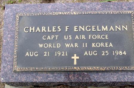 ENGELMANN, CHARLES F. - Crawford County, Iowa   CHARLES F. ENGELMANN