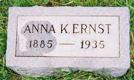 ERNST, ANNA KATHERINE - Crawford County, Iowa | ANNA KATHERINE ERNST