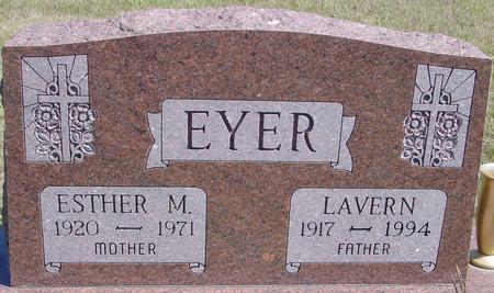 EYER, LAVERN & ESTHER - Crawford County, Iowa | LAVERN & ESTHER EYER