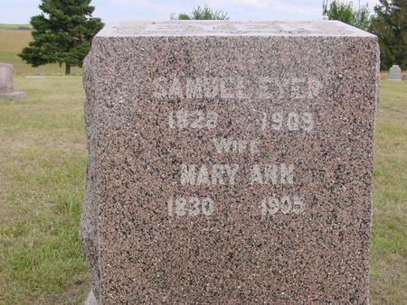 EYER, SAMUEL & MARY ANN - Crawford County, Iowa | SAMUEL & MARY ANN EYER