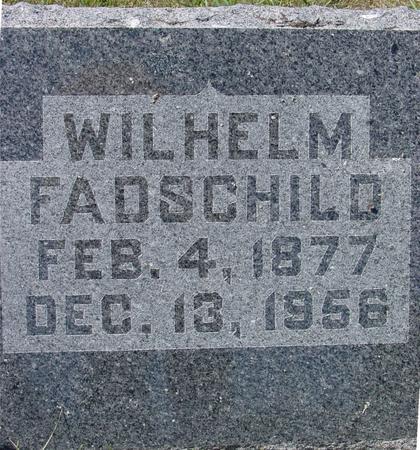 FADSCHILD, WILHELM - Crawford County, Iowa | WILHELM FADSCHILD