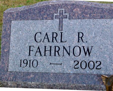 FAHRNOW, CARL R. - Crawford County, Iowa | CARL R. FAHRNOW
