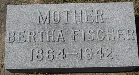 FISCHER, BERTHA - Crawford County, Iowa | BERTHA FISCHER