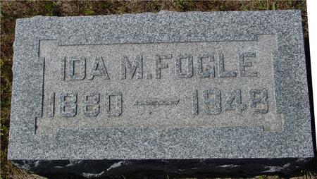 FOGLE, IDA M. - Crawford County, Iowa   IDA M. FOGLE