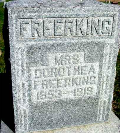 FREERKING, MRS. DOROTHEA - Crawford County, Iowa   MRS. DOROTHEA FREERKING