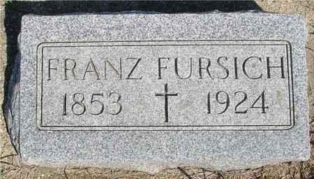 FURSICH, FRANZ - Crawford County, Iowa   FRANZ FURSICH