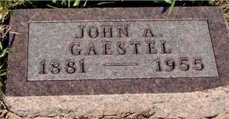 GAESTEL, JOHN A. - Crawford County, Iowa | JOHN A. GAESTEL