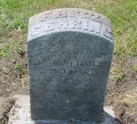GEHRING, FRITZ - Crawford County, Iowa | FRITZ GEHRING