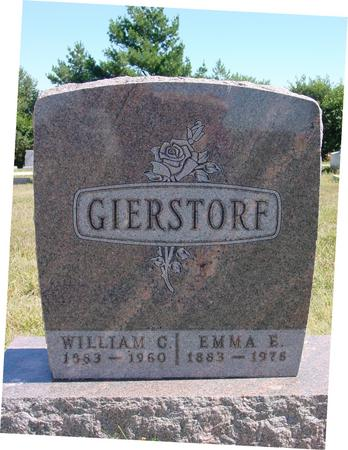 GIERSTORF, WILLIAM & EMMA - Crawford County, Iowa | WILLIAM & EMMA GIERSTORF