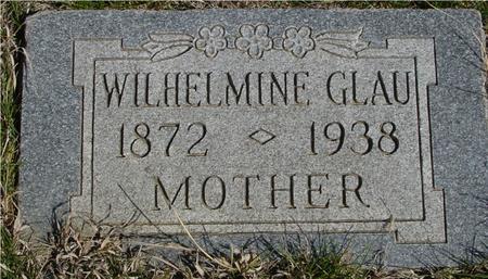 GLAU, WILHELMINE - Crawford County, Iowa | WILHELMINE GLAU