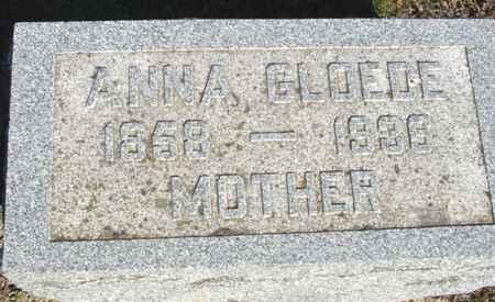 GLOEDE, ANNA - Crawford County, Iowa   ANNA GLOEDE