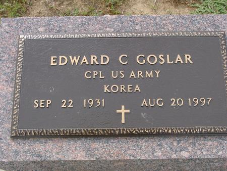 GOSLAR, EDWARD C. - Crawford County, Iowa | EDWARD C. GOSLAR