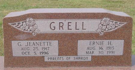 GRELL, ERNIE & G. JEANETTE - Crawford County, Iowa   ERNIE & G. JEANETTE GRELL