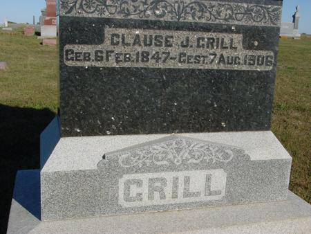 GRILL, CLAUSE J. - Crawford County, Iowa | CLAUSE J. GRILL