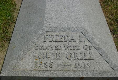 GRILL, FRIEDA - Crawford County, Iowa | FRIEDA GRILL