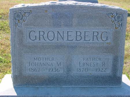 GRONEBERG, ERNEST & JOHANNA - Crawford County, Iowa | ERNEST & JOHANNA GRONEBERG