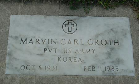 GROTH, MARVIN CARL - Crawford County, Iowa   MARVIN CARL GROTH