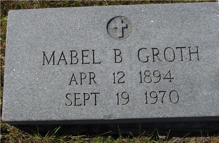 GROTH, MABEL B. - Crawford County, Iowa | MABEL B. GROTH