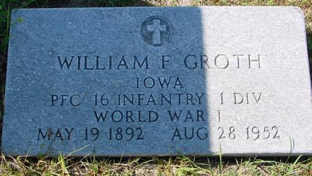 GROTH, WILLIAM F. - Crawford County, Iowa | WILLIAM F. GROTH