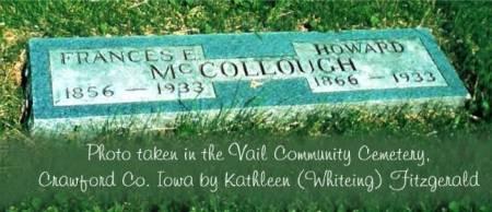 MCCOLLOUGH, HOWARD & FRANCES E. (NORTH) - Crawford County, Iowa | HOWARD & FRANCES E. (NORTH) MCCOLLOUGH