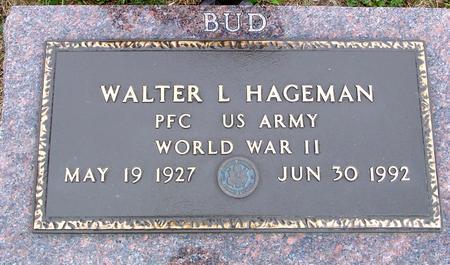 HAGEMAN, WALTER L. - Crawford County, Iowa | WALTER L. HAGEMAN