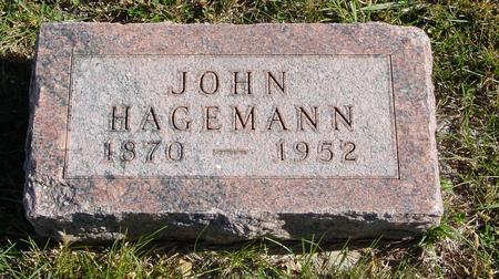 HAGEMANN, JOHN - Crawford County, Iowa | JOHN HAGEMANN
