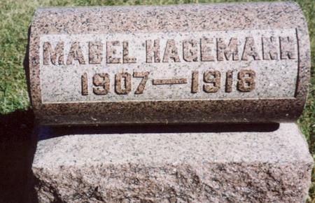 HAGEMANN, MABEL - Crawford County, Iowa | MABEL HAGEMANN