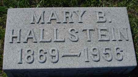 HALLSTEIN, MARY B. - Crawford County, Iowa | MARY B. HALLSTEIN