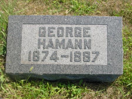 HAMANN, GEORGE - Crawford County, Iowa | GEORGE HAMANN