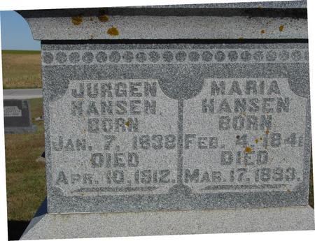 HANSEN, JURGEN & MARIA - Crawford County, Iowa | JURGEN & MARIA HANSEN