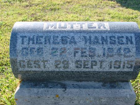 HANSEN, THERESA - Crawford County, Iowa | THERESA HANSEN
