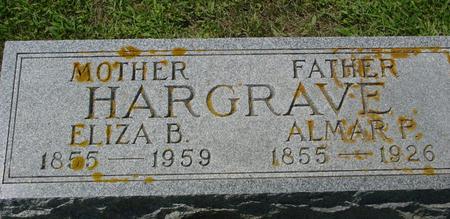 HARGRAVE, ALMAR P. - Crawford County, Iowa | ALMAR P. HARGRAVE