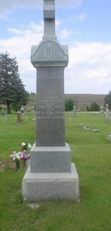 HARRINGTON, ROSE - Crawford County, Iowa   ROSE HARRINGTON