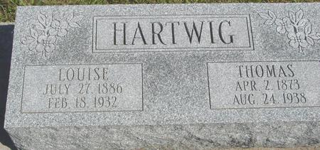 HARTWIG, THOMAS & LOUISE - Crawford County, Iowa | THOMAS & LOUISE HARTWIG