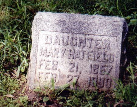 HATFIELD, MARY - Crawford County, Iowa | MARY HATFIELD