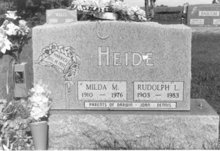 HENNINGSEN HEIDE, MILDA MARIE - Crawford County, Iowa | MILDA MARIE HENNINGSEN HEIDE