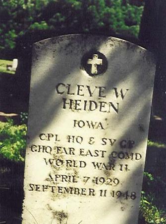 HEIDEN, CLEVE - Crawford County, Iowa | CLEVE HEIDEN