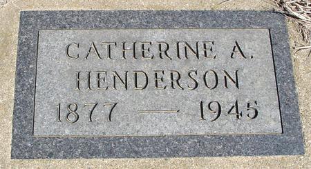 HENDERSON, CATHERINE A. - Crawford County, Iowa | CATHERINE A. HENDERSON