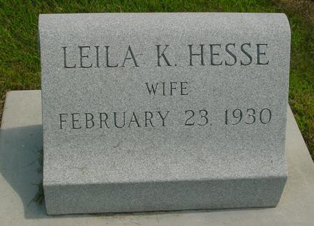 HESSE, LEILA K. - Crawford County, Iowa | LEILA K. HESSE