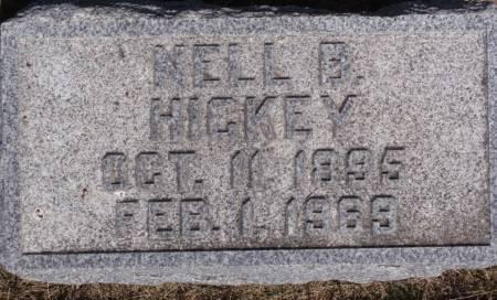 HICKEY, NELL B. - Crawford County, Iowa | NELL B. HICKEY